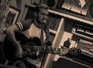 singer/songwriter Connor Woods
