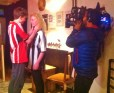 David Jackson & Brogan Gilbert perform a scene for camera
