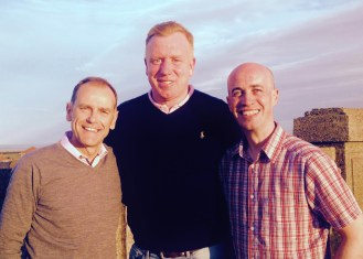 Jeff Brown, ex-SAFC player Dave Corner, producer Paul Dunn