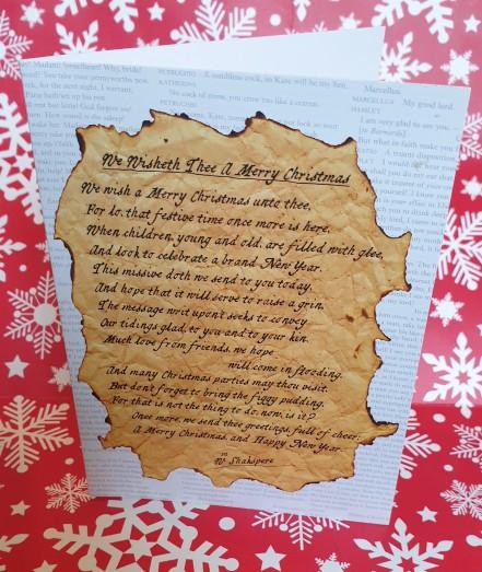 We Wisheth Thee A Merry Christmas